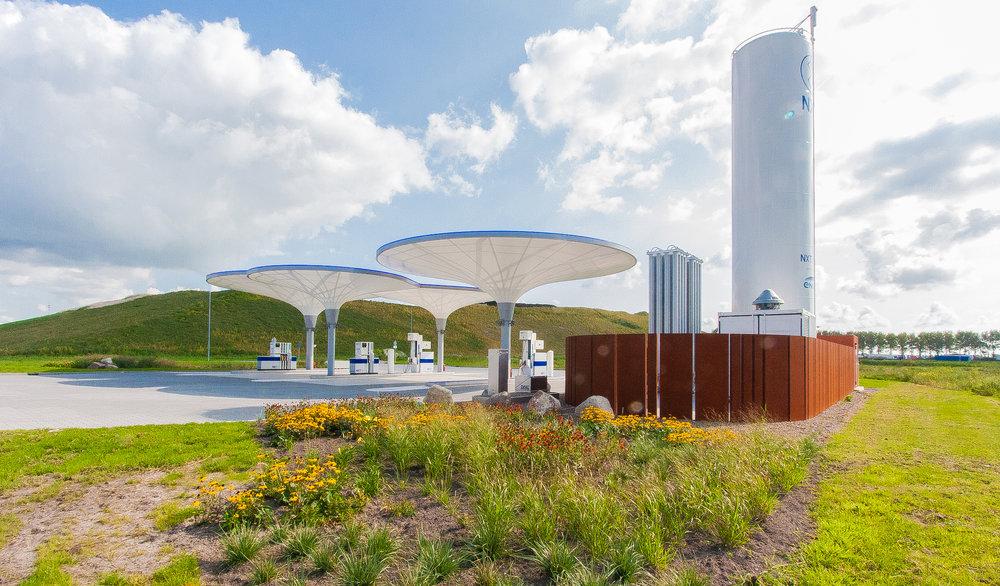 Duurzaam tankstation NXT Boekelermeer, Alkmaar