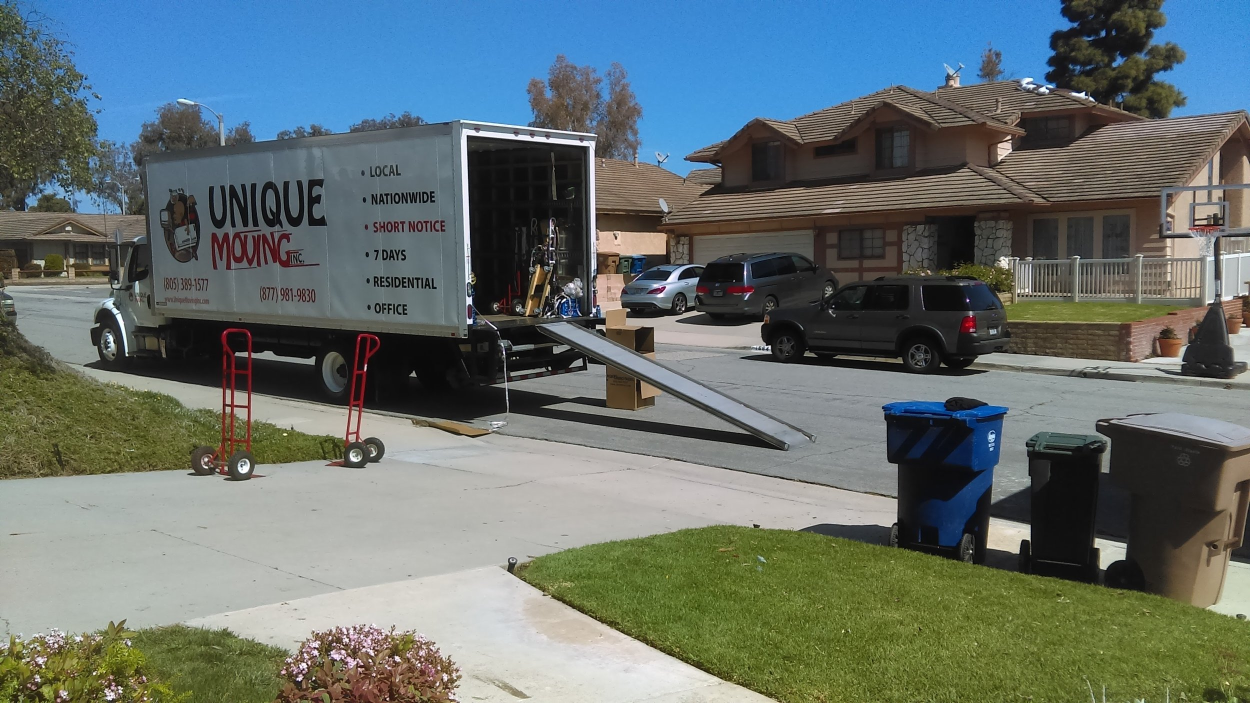 Unique Moving Inc    Best Movers near me in Ventura Co