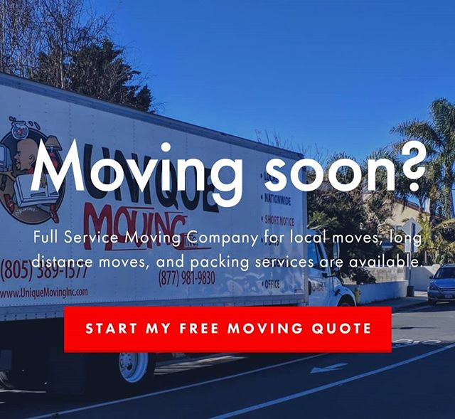 We are ready, are you?  We can pack, move and do the complete job for you!#moving #movingsoon #ventura #camarillo #oxnard