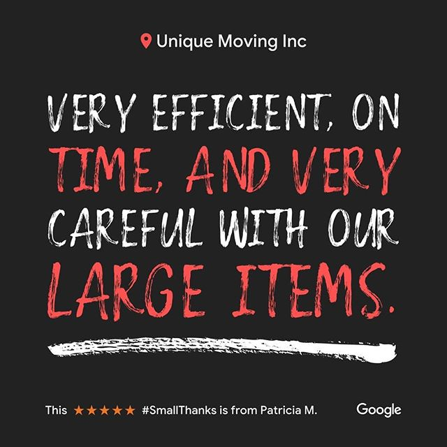 #Moving soon?  Here is a recent review for our company.  Contact us for your moving needs. #venturacounty #ventura #oxnard #camarillo #thousandoaks #movingcompany
