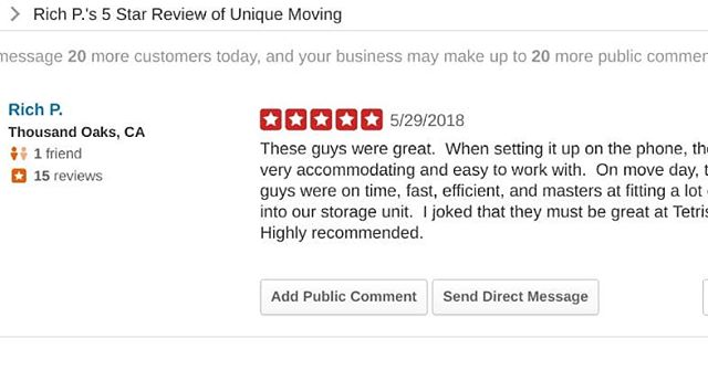 Another #awesome 5-star #review on #yelp.  Thank you!