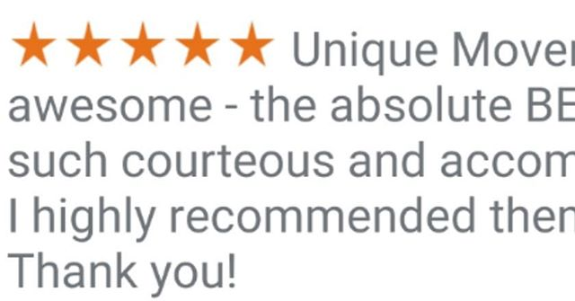 5* Google Review!!
