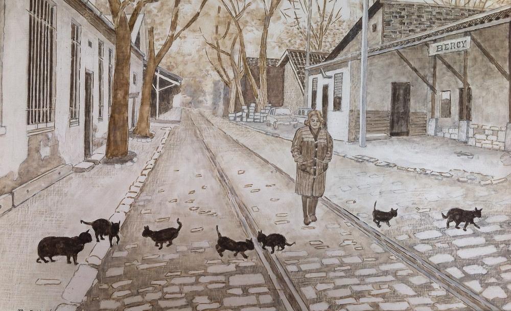 I gatti di Bercy