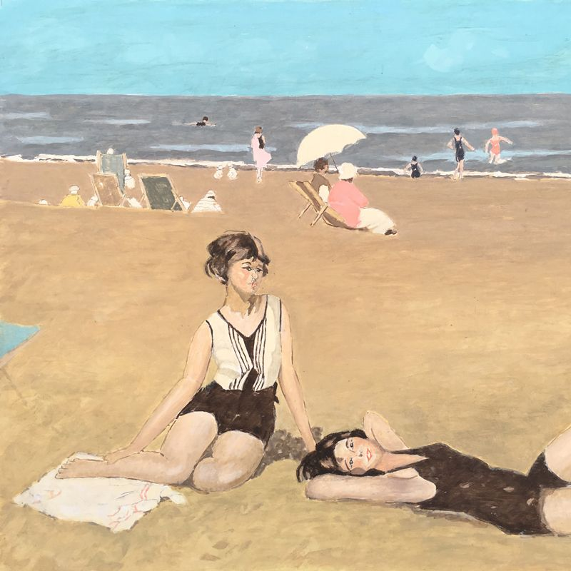 Michele-Gurrado---Pittore---Sulla-spiaggia---2014---olio-su-tavola---45x50-compressor.jpg