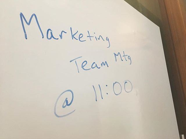 Time for a Marketing team meeting.  Check out Directade's blog for 5 questions to ask your team to see how ready you are for data-based decision making.
