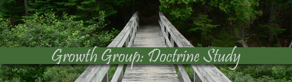 This is the archive of our Sunday morning Growth Group study of our doctrinal statement taught by members of Concord.