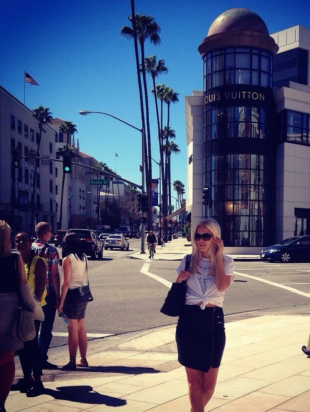 We also made it to  Rodeo Drive  for a bit of shopping