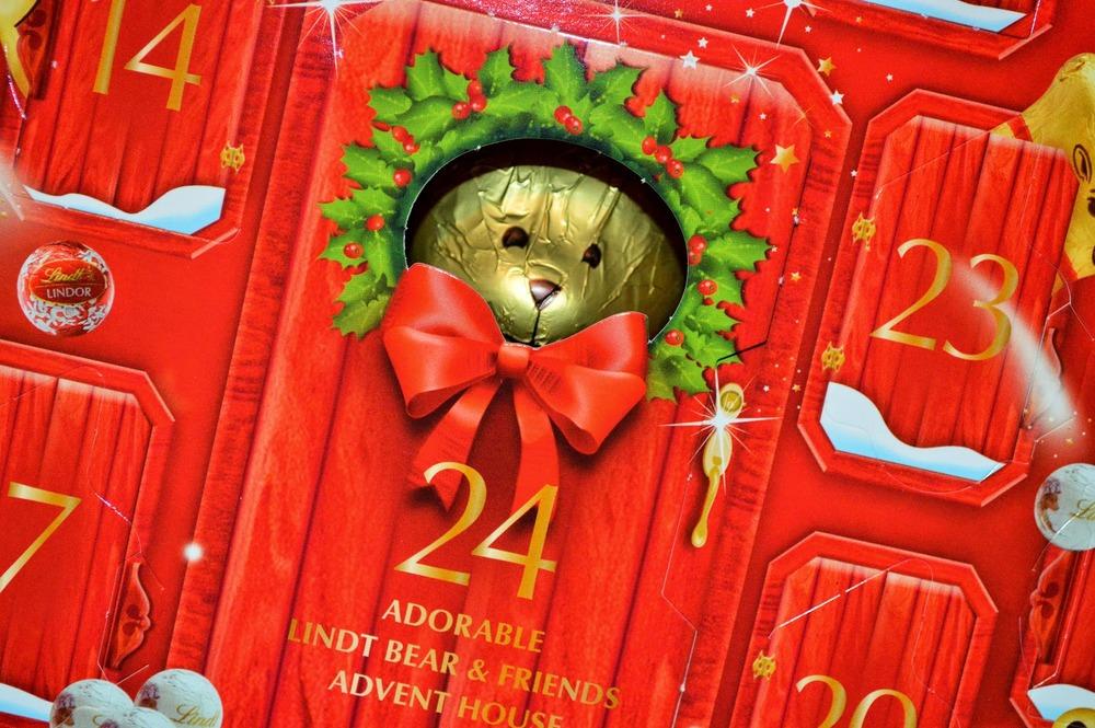 The tasty Advent Calendar   Lindt  .