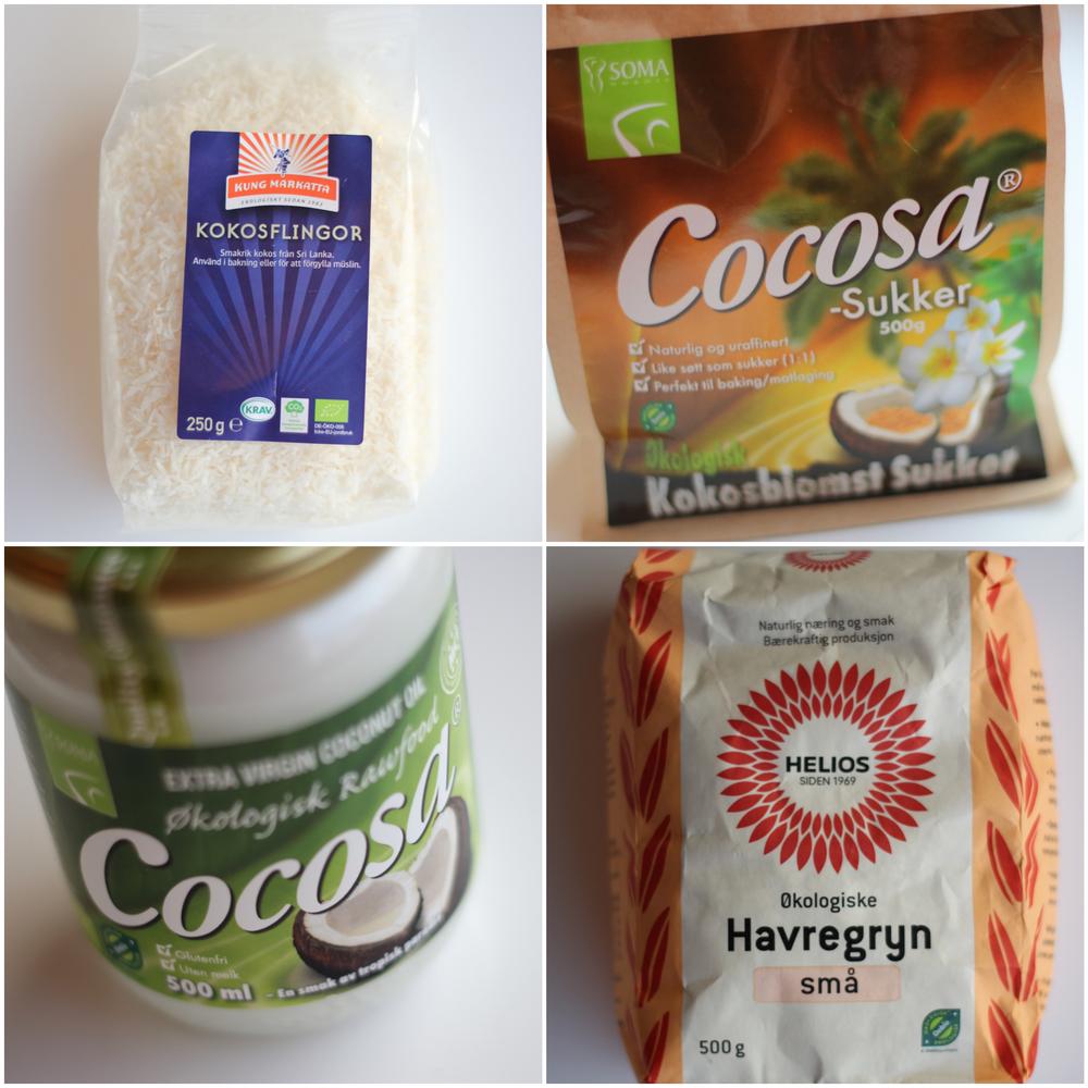 Something for the norwegians: Jeg fant både oppskriften og disse produktene på Sunkost, nærmere bestem  Sunkost Herkules  i  Skien  hvor de har et supert utvalg av matvarer.