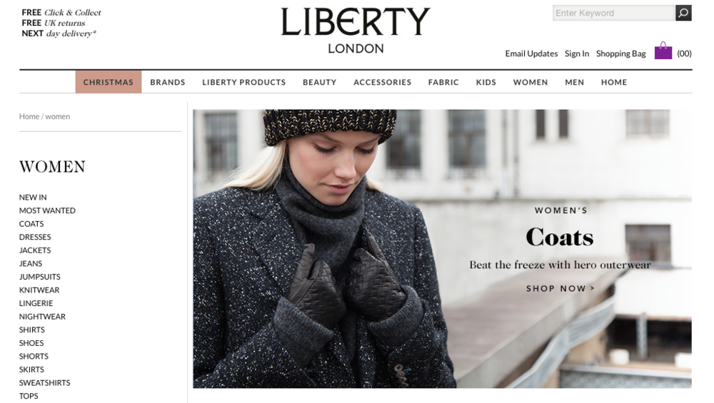 Check out Liberty's winter collection here:   www.liberty.co.uk
