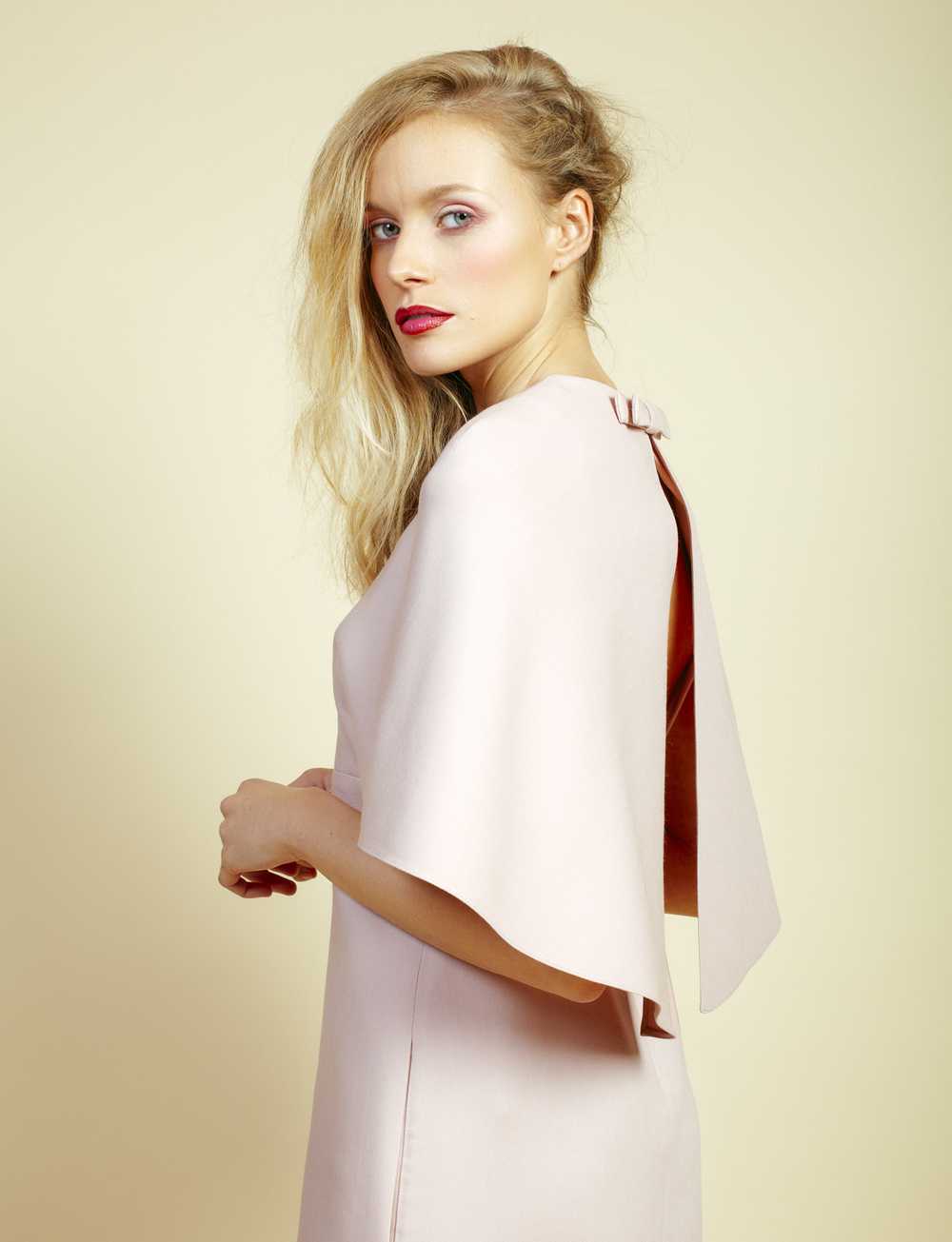 Valentino  cape mini dress, £1,195
