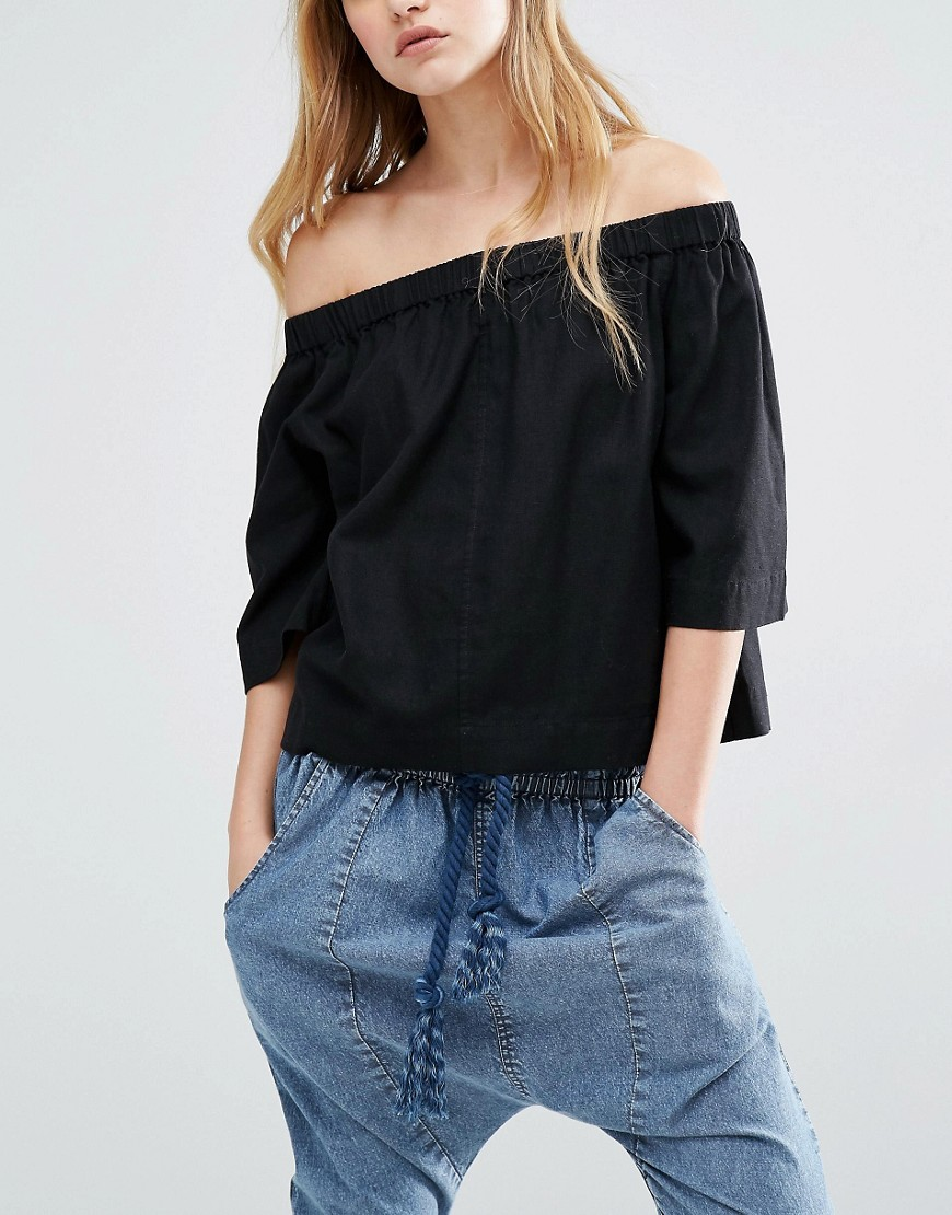 Off the shoulder top from   Asos