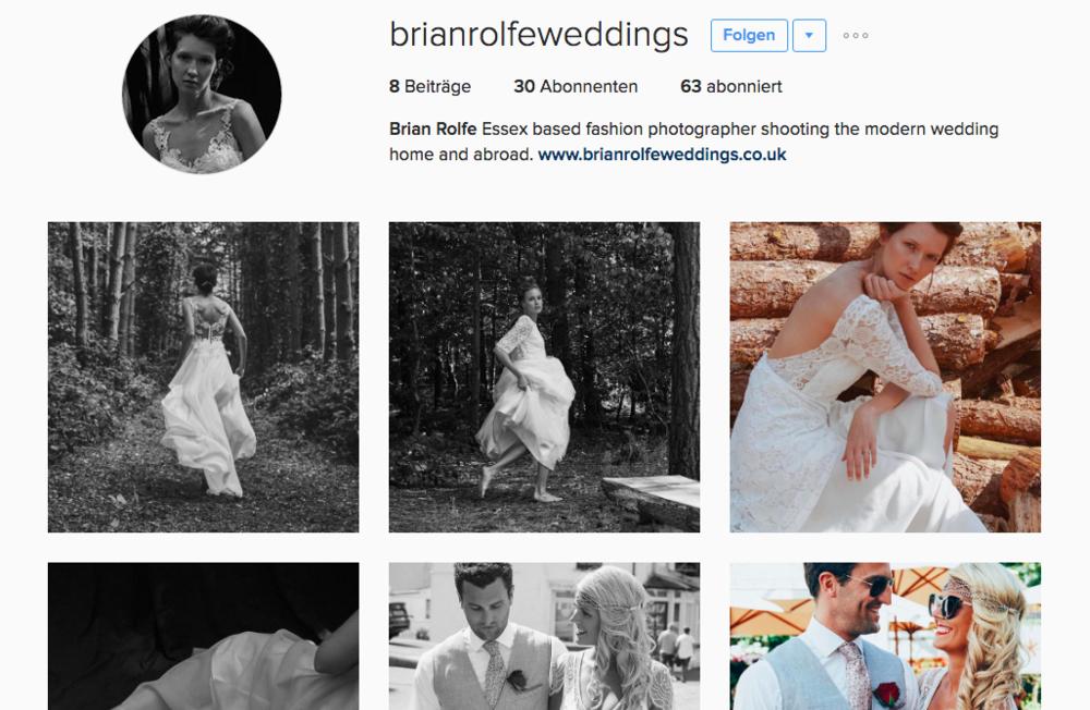Instagram: @brianrolfeweddings