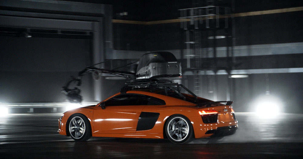 AUDI R SPIN TV Commercial By Director Mark Jenkinson THE OF US - Audi r8 commercial