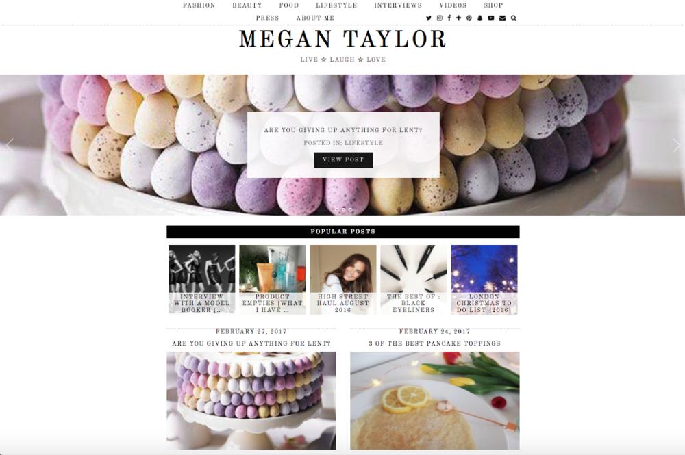 Make sure you go and check out Megans beautiful blog:  www.megantaylor.london