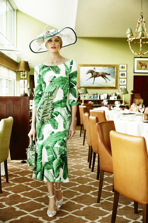 D&G Dress, Shoes and Handbag