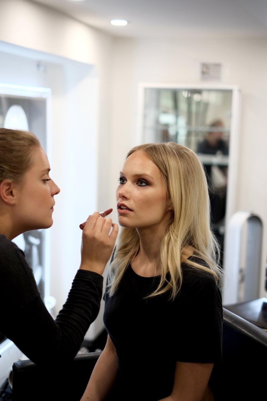 Stunning makeup by  Greta Reichel