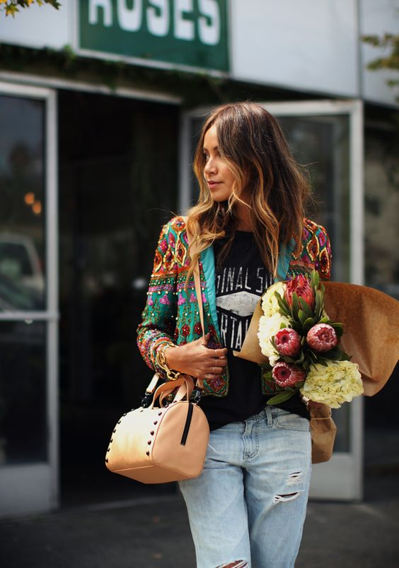 flower jacket   here