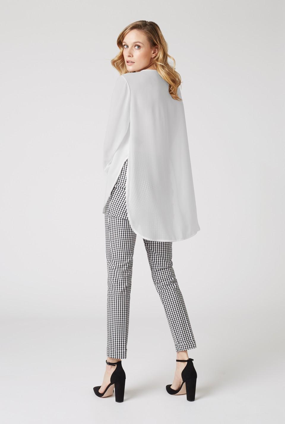Long sleeve plain tunic