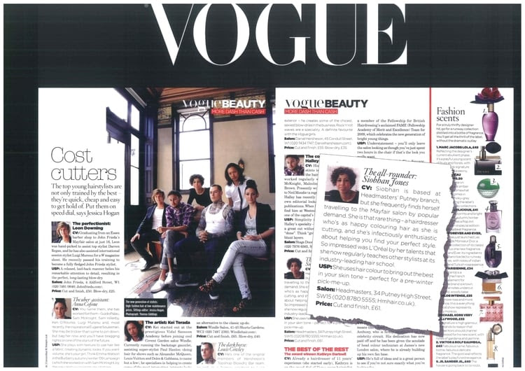 Siobhan featured in Vogue