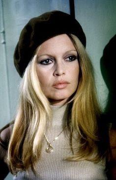Bridgitte Bardot proves the beret isn't cute it's tres sophisticated.