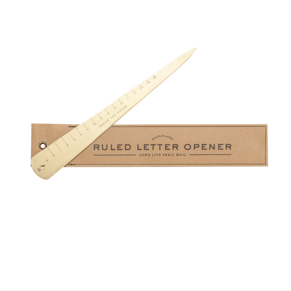 Pretty Brass letter opener by Men's Society, only £15
