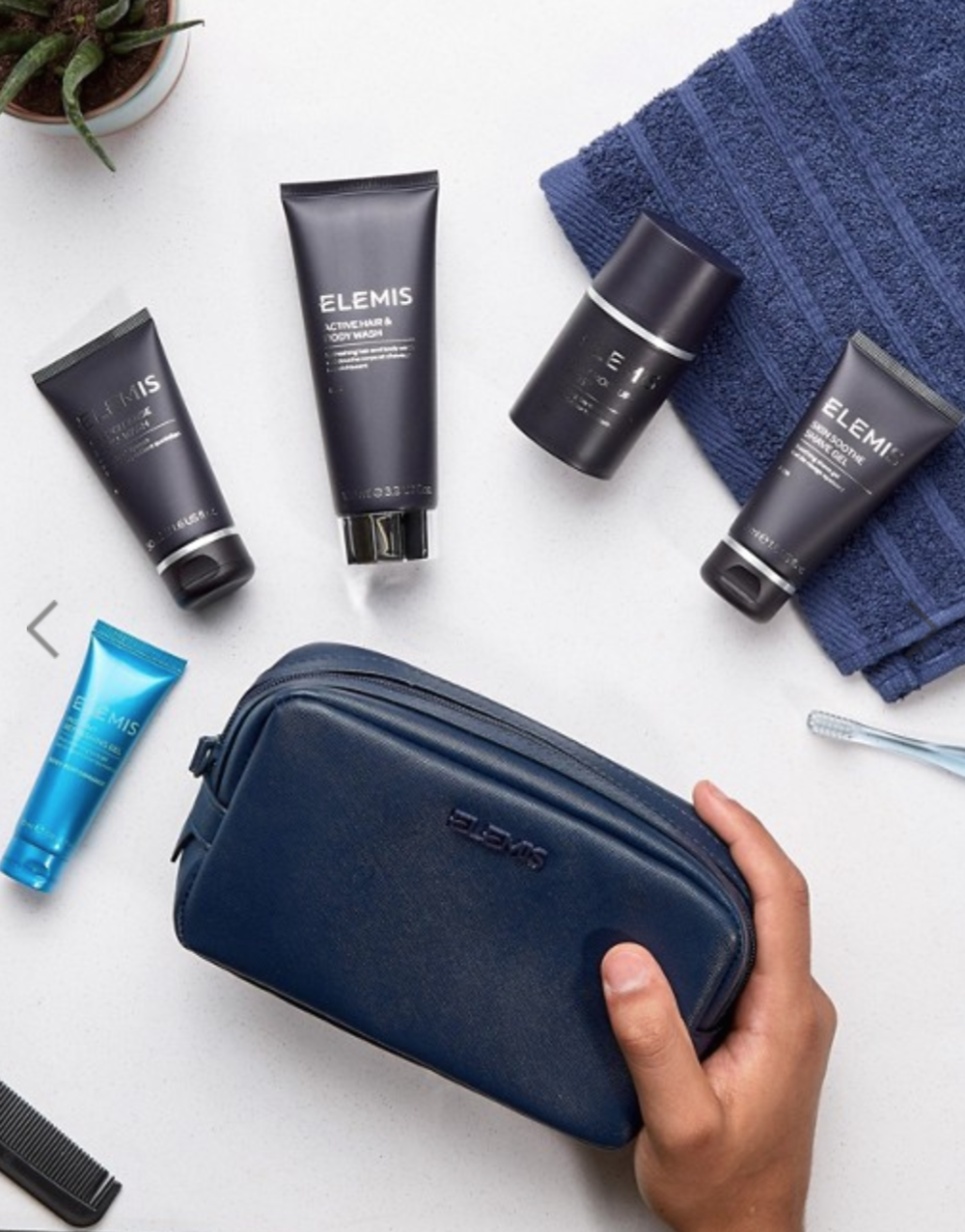 Elemis - The Ultimate Explorer's Travel Kit with 6 Six piece order it via Elemis here