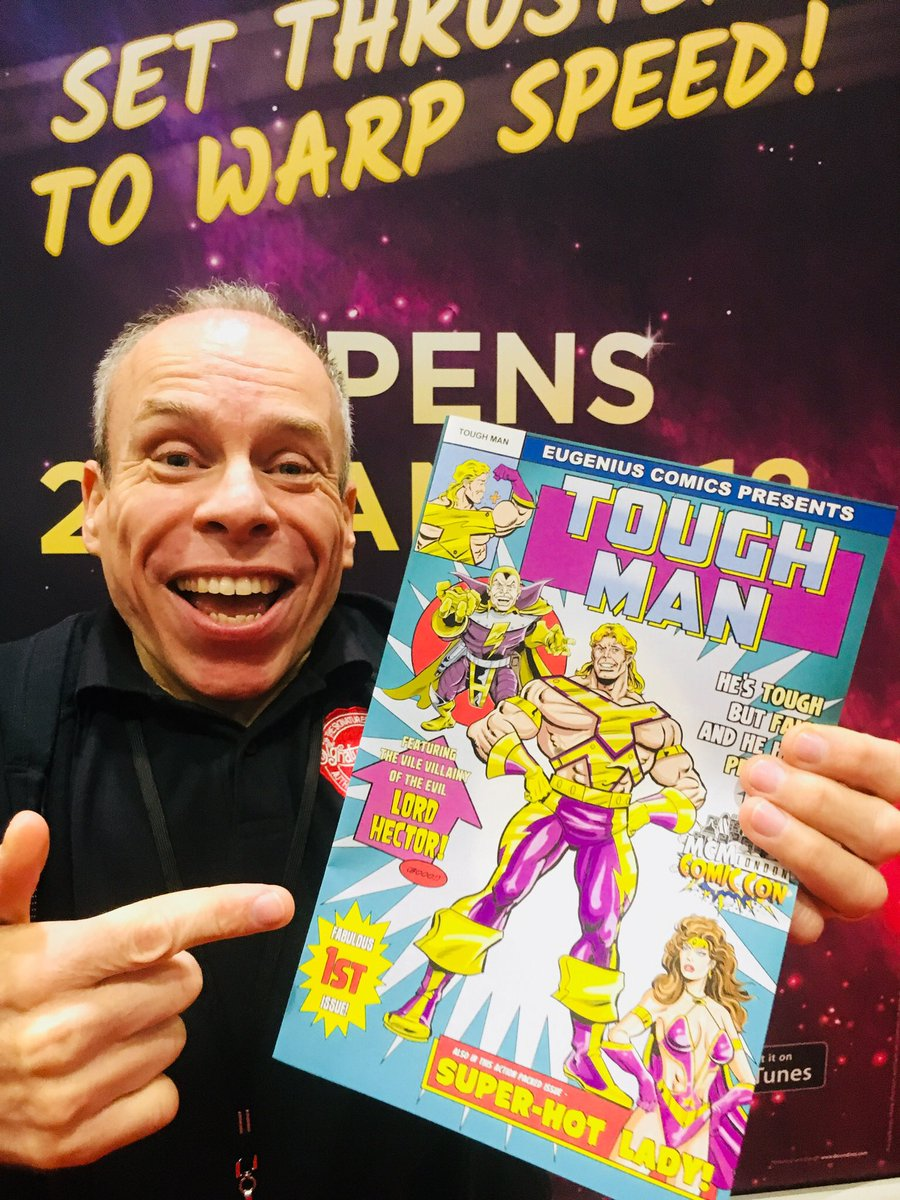 Co producer of EUGENIUS! and Hollywood star Warwick Davis
