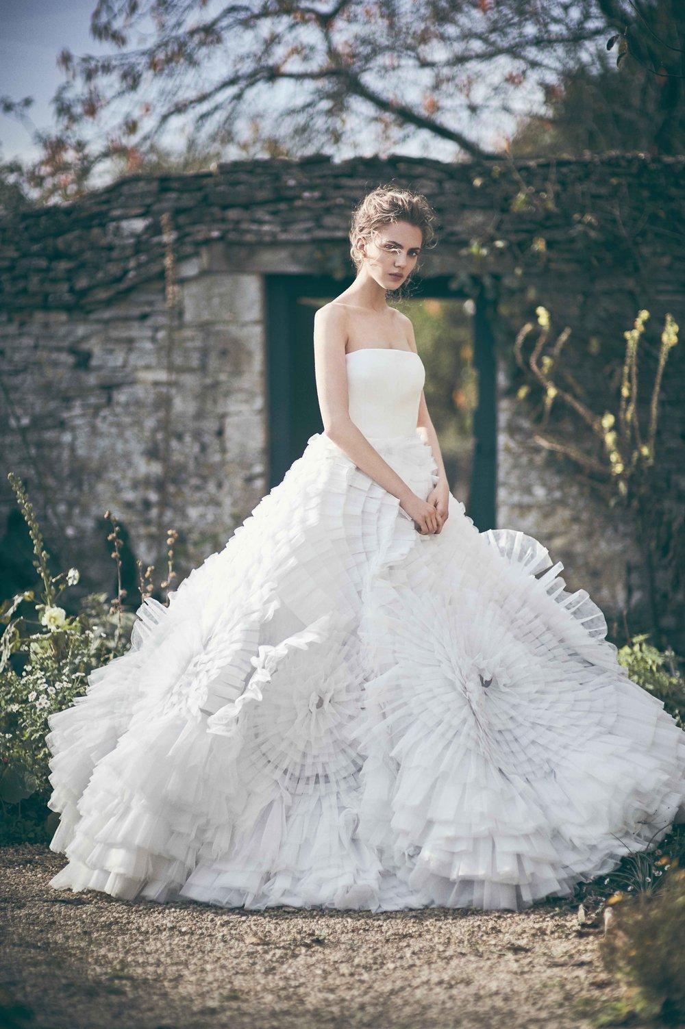 Stunning work for Tatler Wedding