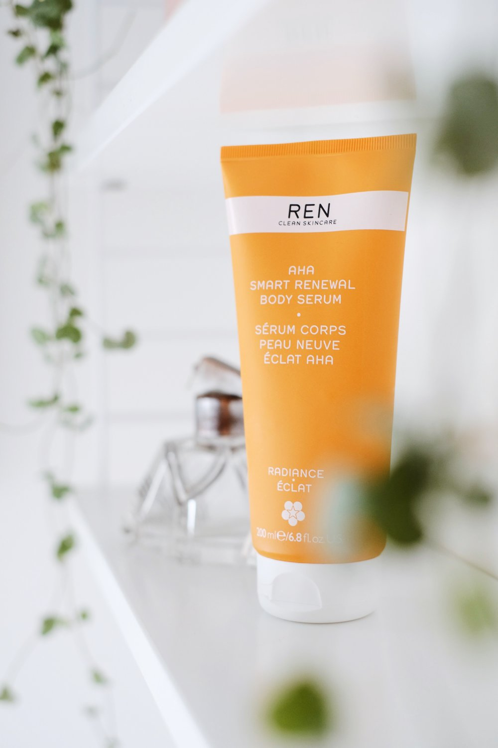 6. REN -AHA Smart Renewal Body Serum - We recently got introduced to this brand new product at a Press Event of REN's lovely PR Agency