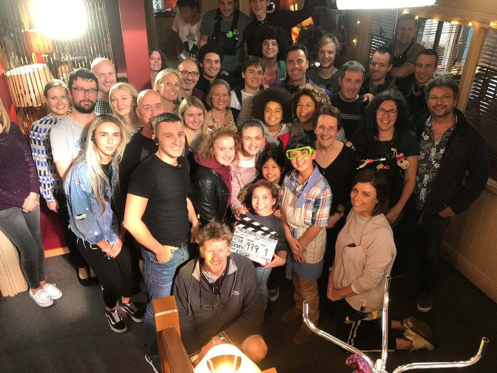 The cast and crew of 'The Dumping Ground'