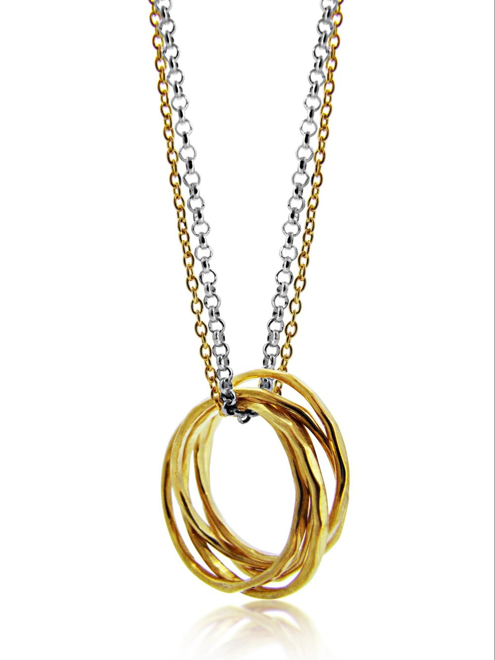 Signature Collection - 5 strand ring necklace -