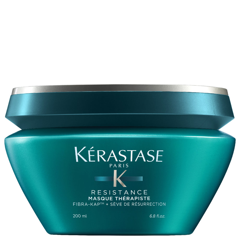 "Kérastase Resistance Therapiste Masque - This Kérastase Resistance Therapiste Masque is one of my favourite masks especially in winter!""It is a butter-textured mask that deeply penetrates hair to restore strength and boost elasticity. Suitable for extremely damaged and over-processed hair, the lightweight mask revitalises hair strands and locks in moisture so you can experience silky smooth, hydrated locks."" Read more about it here"