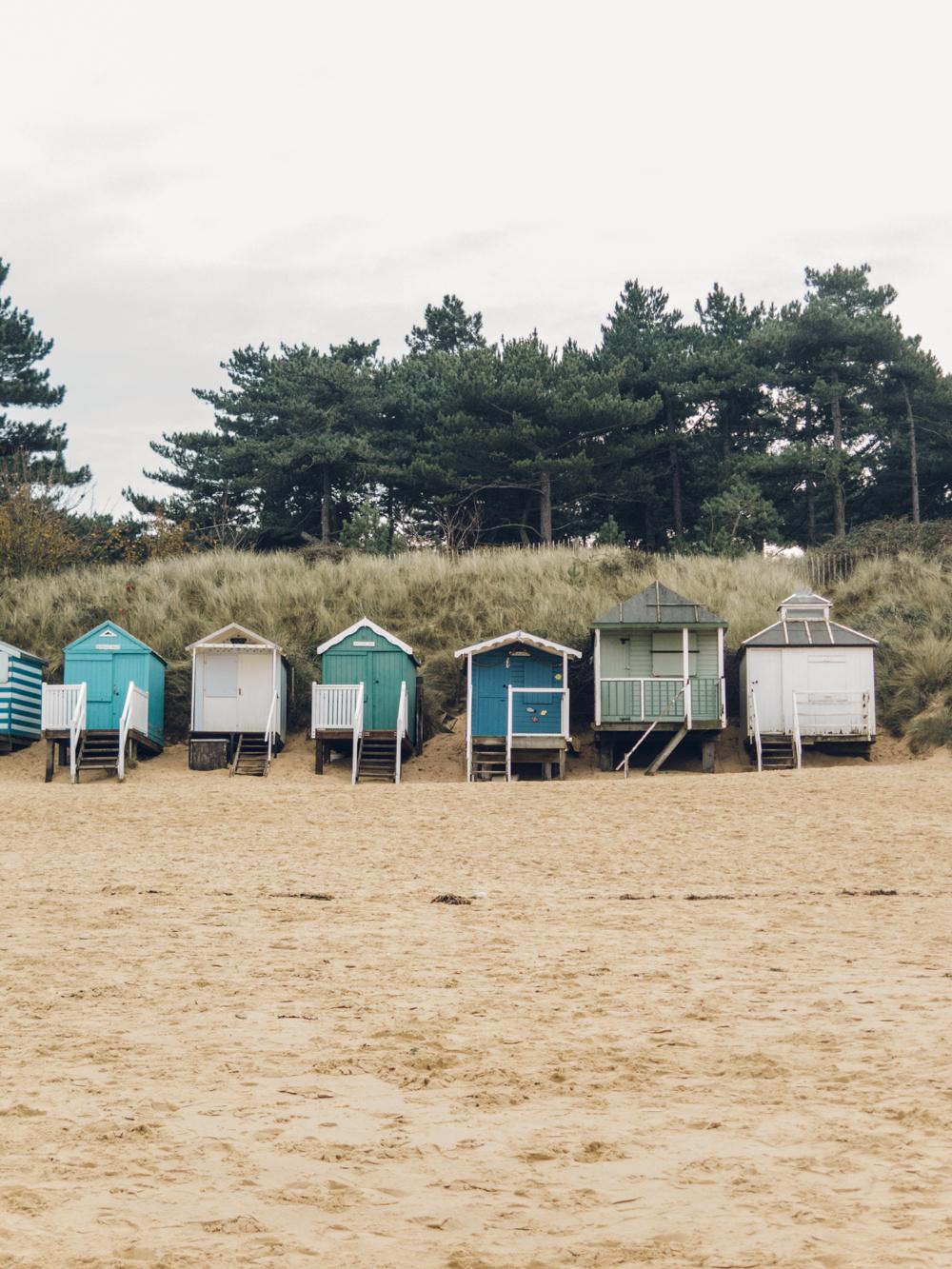 Haarkon Wells-Next-The-Sea Norfolk Beach Huts Sand