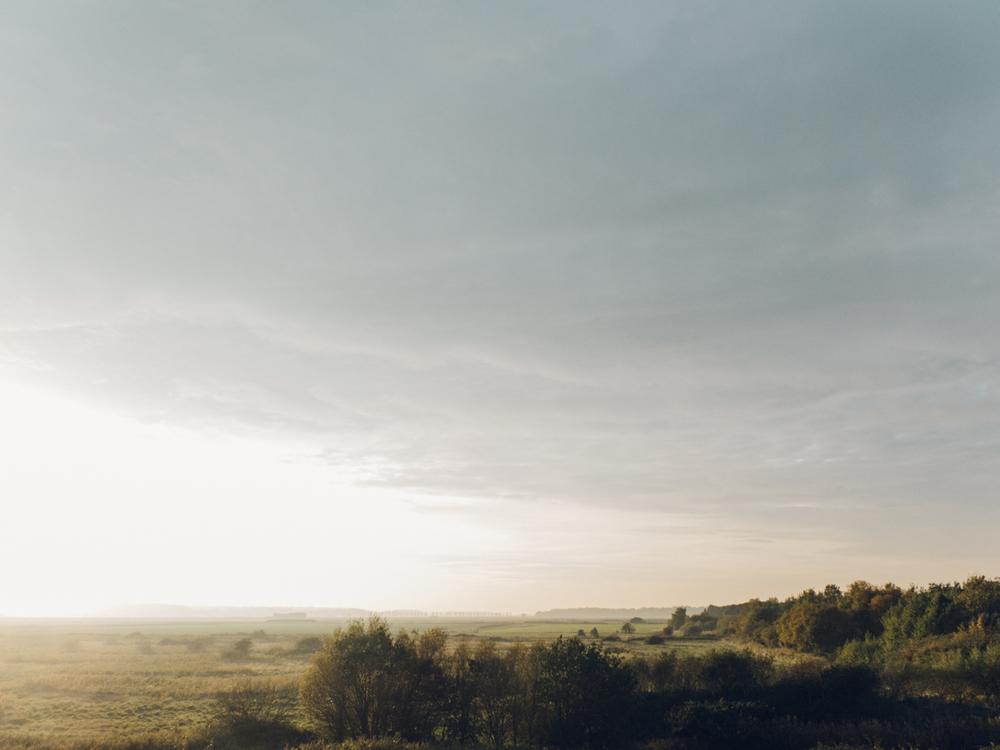 Haarkon Sunset Evening Light Countryside