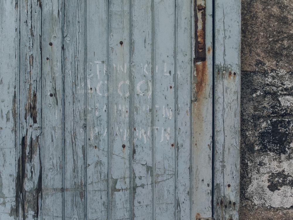 Haarkon Texture Door Paint Vintage Salvage Home Entry Rust
