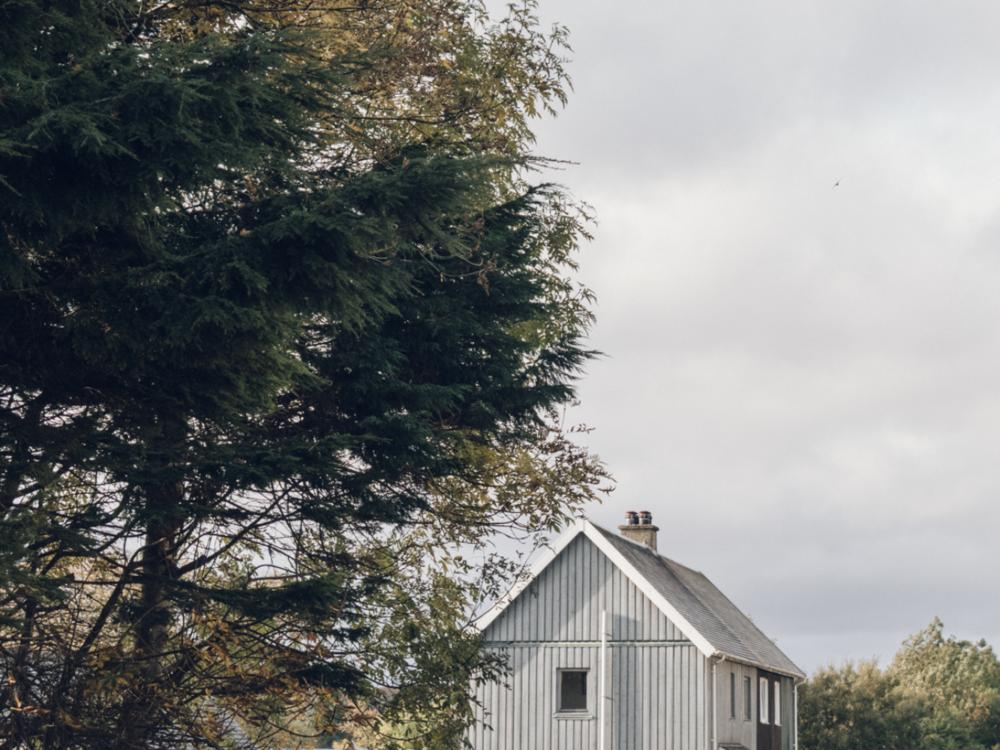 Haarkon Building Swedish Scandinavian Home Tree