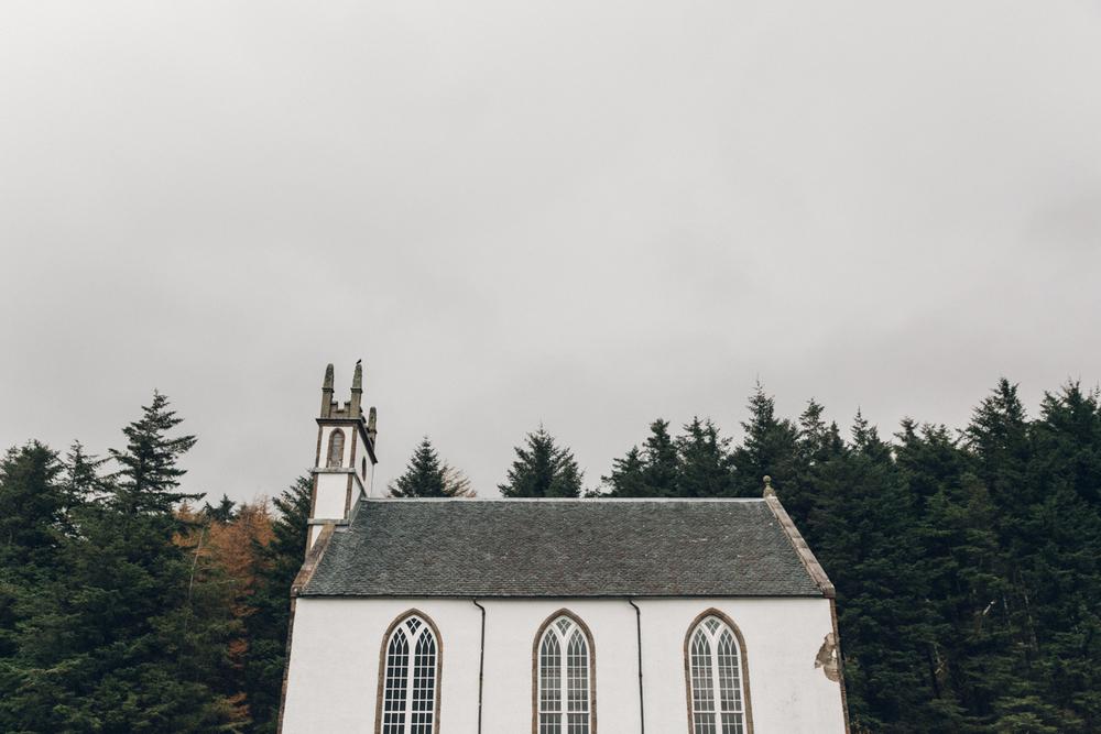Haarkon Skye Church Dunvegan Architecture Building