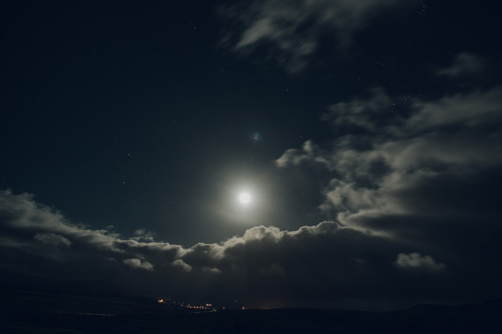 Haarkon Harkon Nightsky Moon Cloud Stars Skye