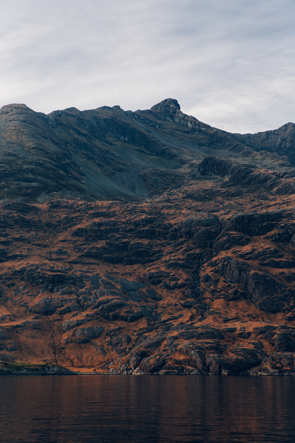Haarkon Cuillin Harkon Mountain Rockface Colour