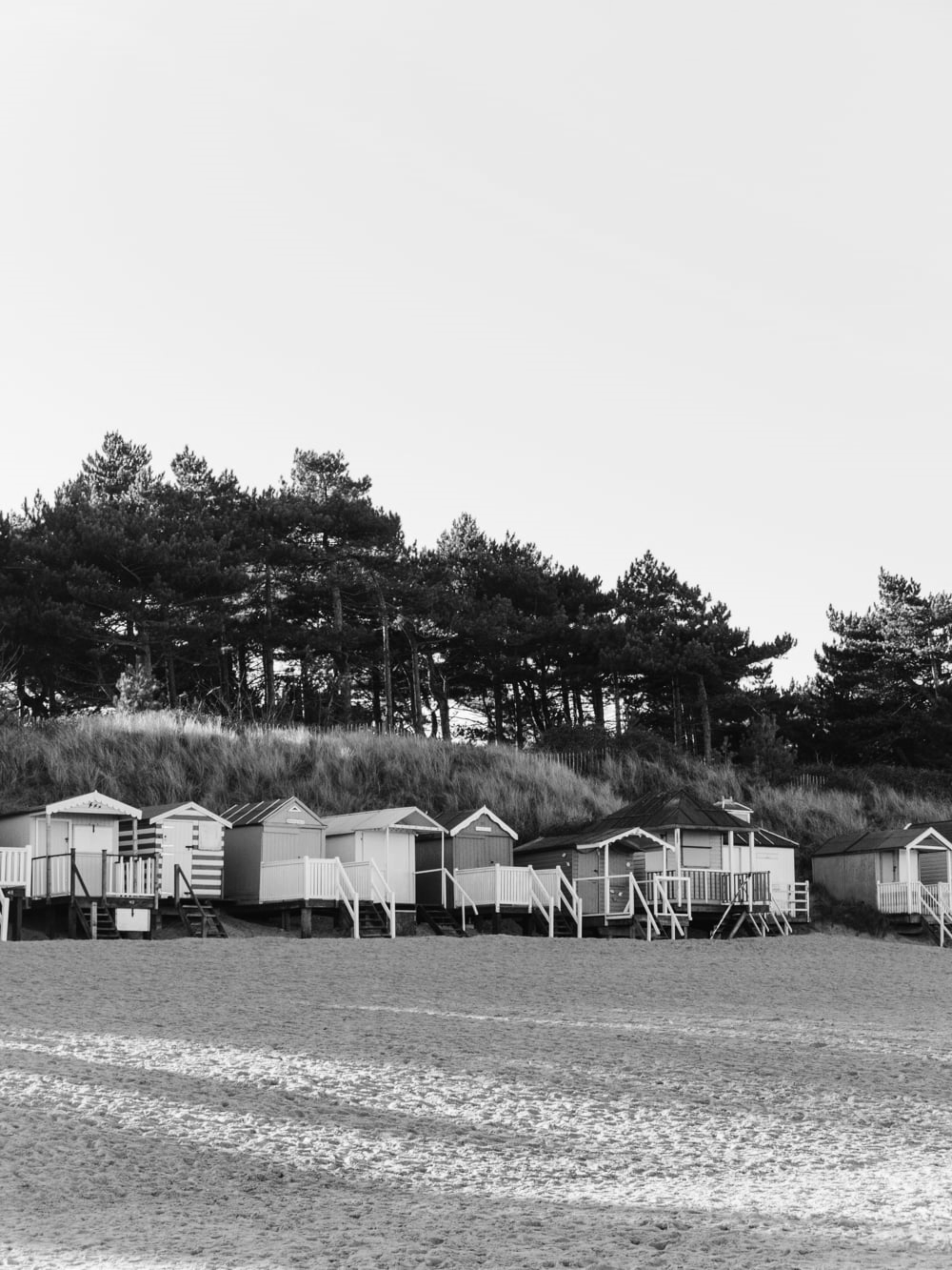 Haarkon Wells Wells-next-the-sea Coast Norfolk architecture beach huts pine woods