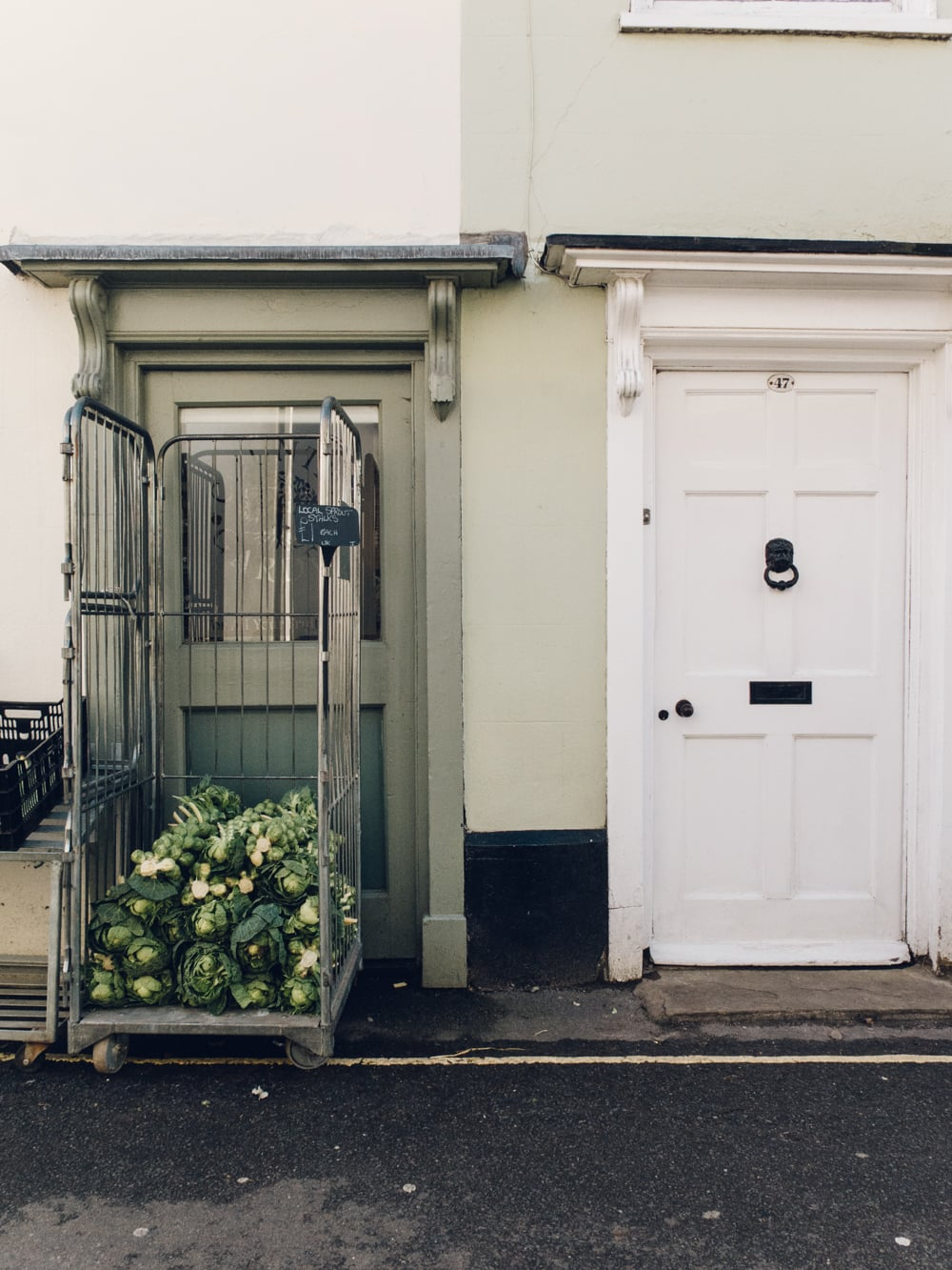 Haarkon Wells Wells-next-the-sea Coast Norfolk architecture Vegetables Sprouts Shop Grocer