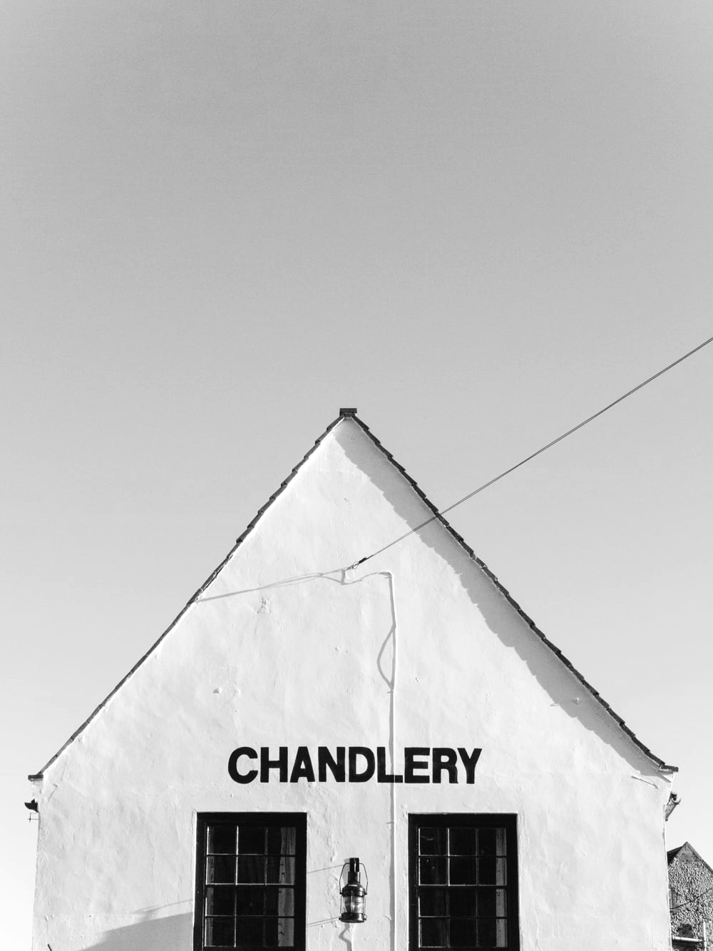 Haarkon Wells Wells-next-the-sea Coast Norfolk architecture Chandlery Sign Font Type Shop Lettering Handpainted
