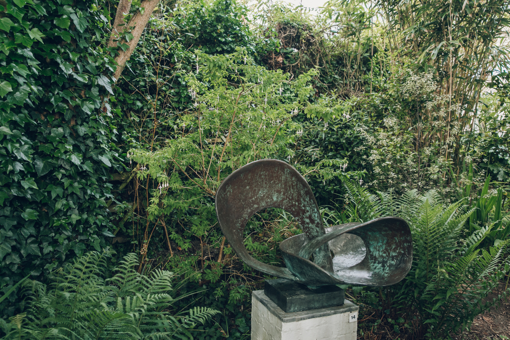 Haarkon Hepworth Sculpture Garden Plants Tate Cornwall Painter Artist