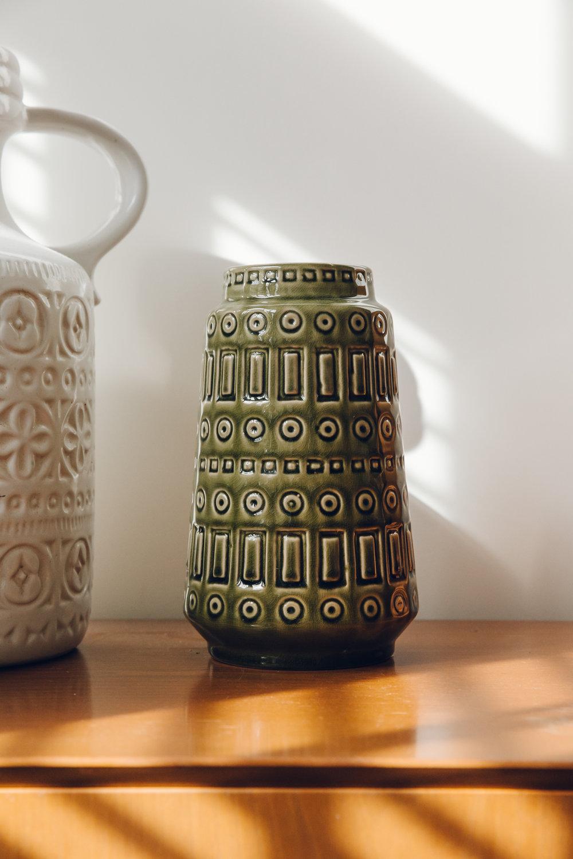 Retro ceramic vase.