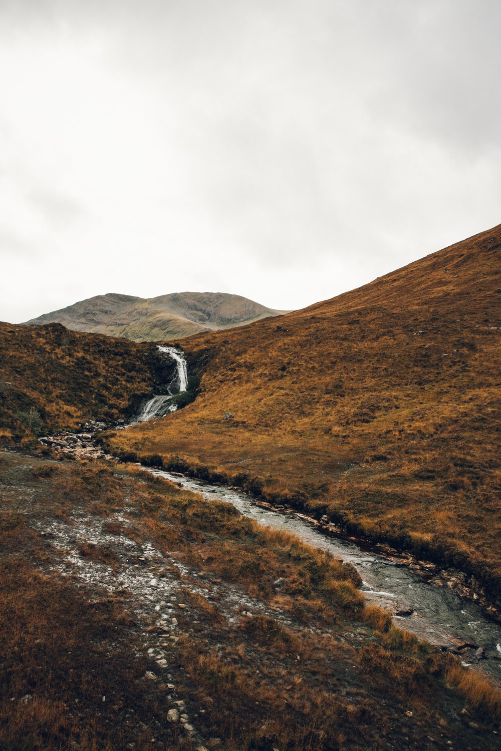 Wild rivers in Autumnal Scotland.