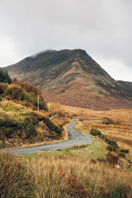 Scotland roads.