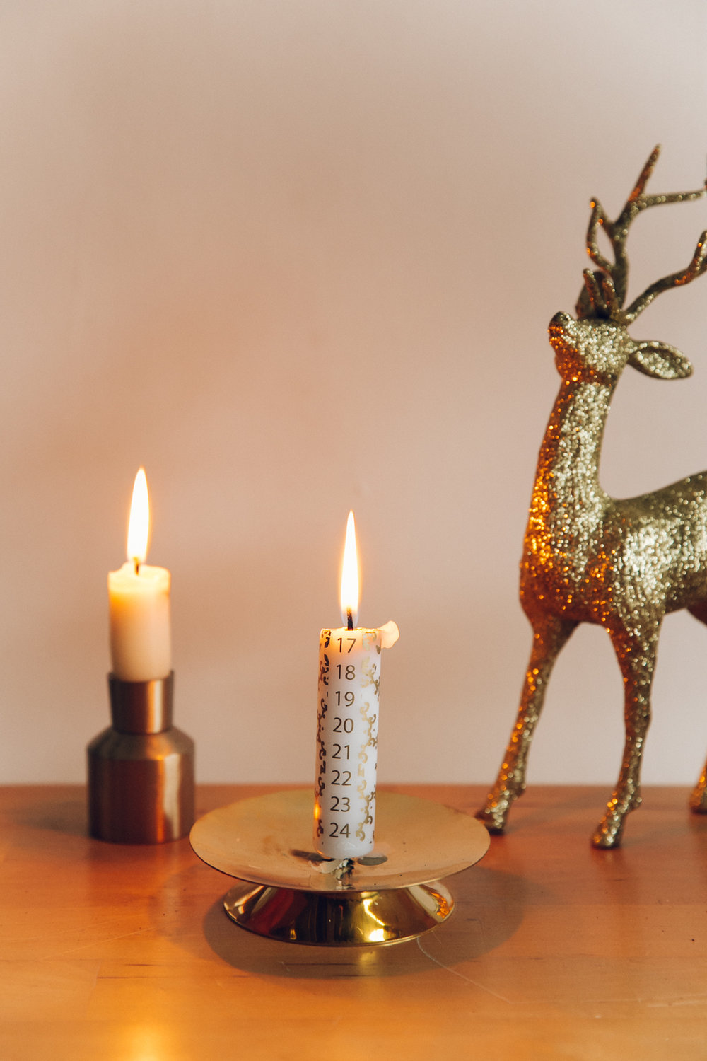 Advent candle.