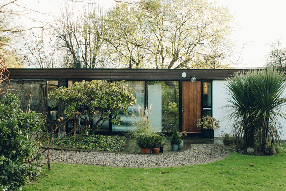 Inside the David Mellor house.