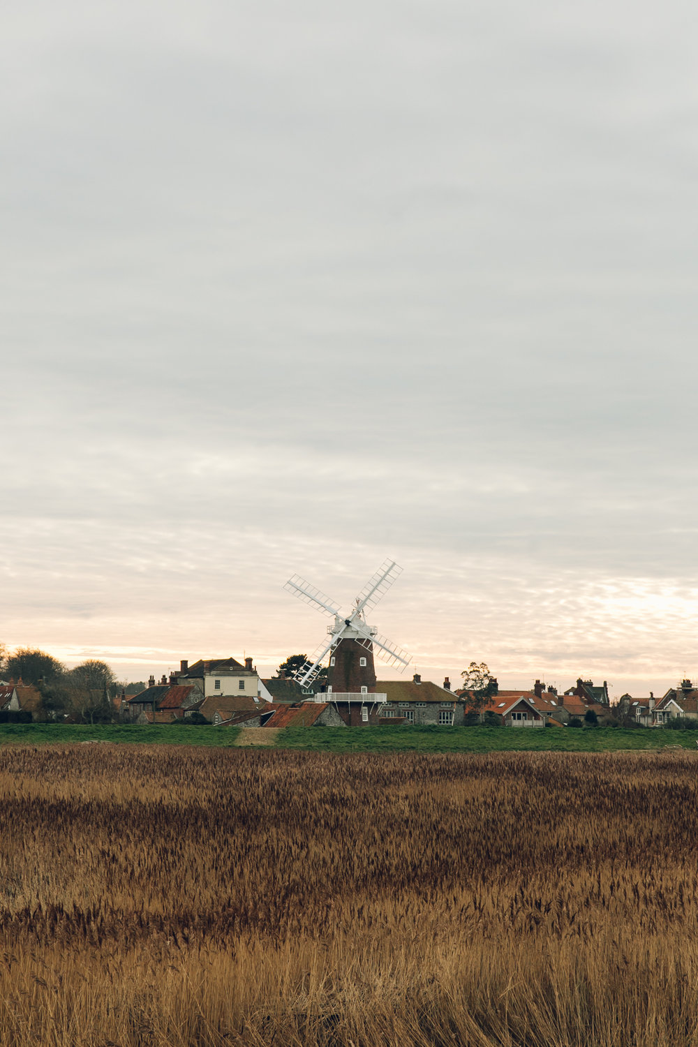 The windmill at Cley-next-the-Sea in North Norfolk.